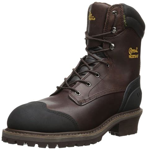 Men's 8' Waterproof Insulated Comp Toe EH 55053 Logger Boot