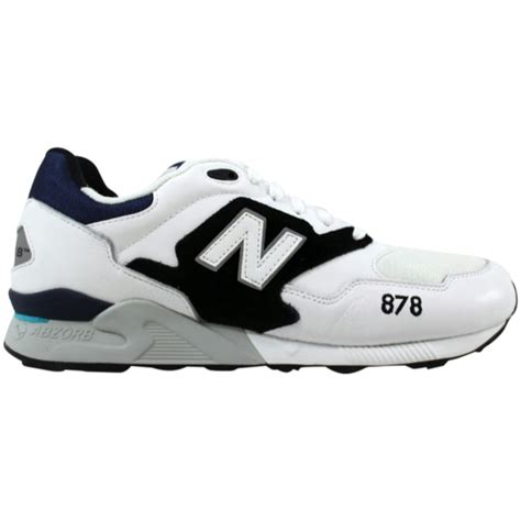 Men's 878 White/Black-Navy ML878AAA Shoe