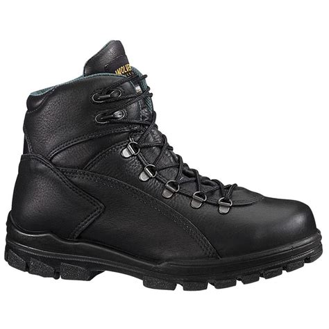 Men's 9651C Waterproof Composite Toe Hiker Black Work Boot