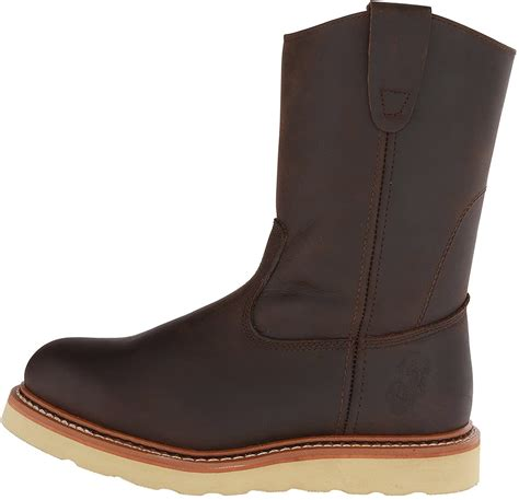 Men's 9955 Safety Toe Pull On Wedge Boot