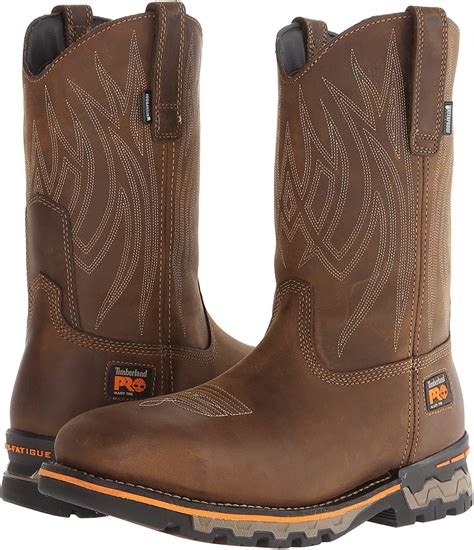 Men's AG Boss Pull-On Alloy Square-Toe Work and Hunt Boot