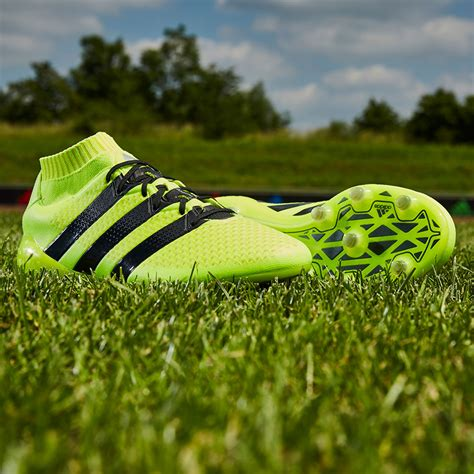 Men's Ace 16.1 Primeknit Firm Ground Soccer Cleats