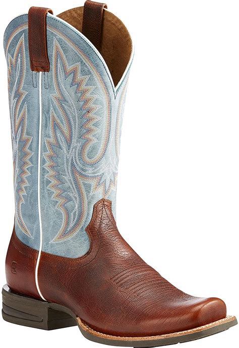 Men's Advantage Western Leather Boot Square Toe - 10023180