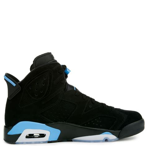 Men's Air 6 Retro, Black/University Blue