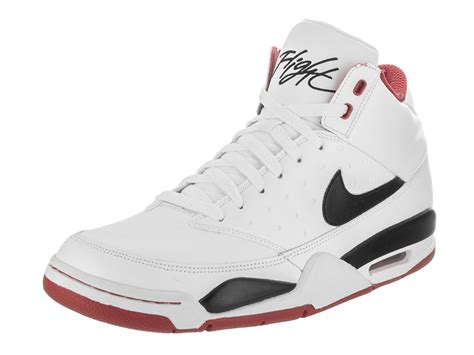 Men's Air Flight Classic Basketball Sneaker, White/White/White, 10.5 D(M) US