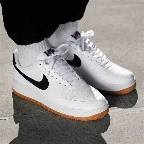 Men's Air Force 1, Dark Obsidian/White