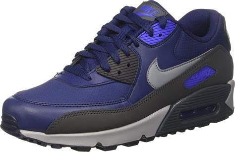 Men's Air Max 90 Essential, BINARY BLUE/COOL GREY-ANTHRACITE