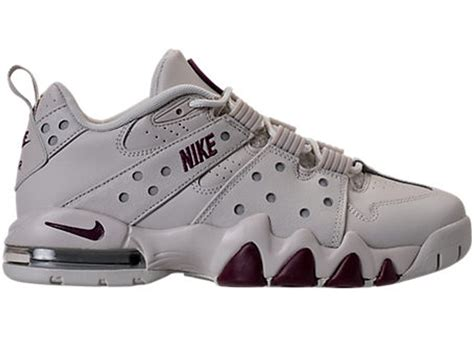Men's Air Max CB '94 Low Shoe, Light Bone/Bordeaux-Metallic Silver, 13