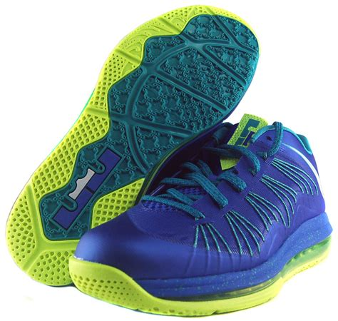 Men's Air Max Lebron X Low Basketball Shoes