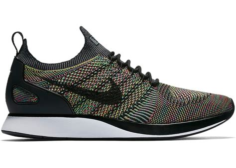 Men's Air Zoom Mariah Flyknit Racer Black/Multicolor 918264-101 (12.5)