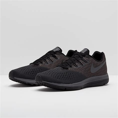 Men's Air Zoom Winflo 4 Running Shoe, Anthracite/Dark Grey-Black 12