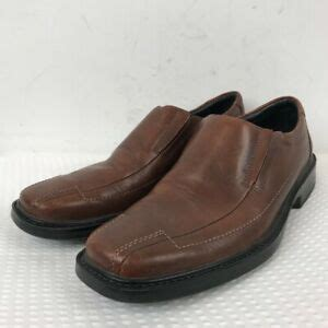 Men's Akahai Leather Moc Toe Slip-On,Dark Wood/Dark Wood Leather,US 13 M