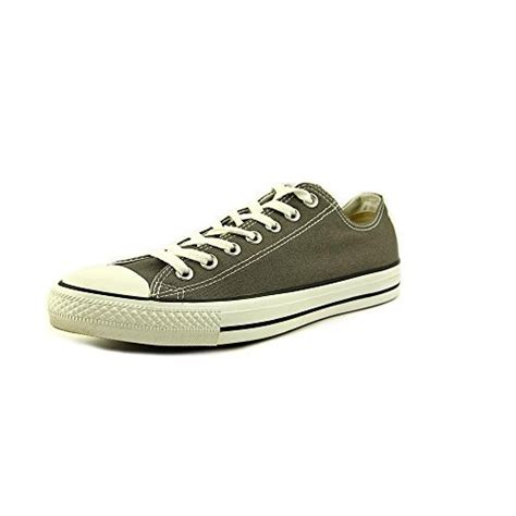 Men's All Star Chuck Taylor Lo Top Oxfords Charcoal 11.5 D(M) US