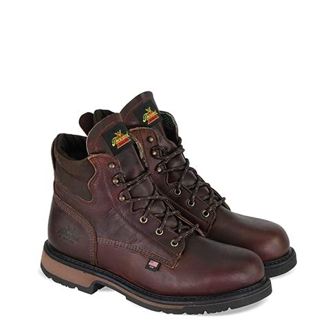Men's American Heritage 6' Classic Plain Toe, Safety Toe Boot