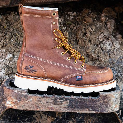 Men's American Heritage 6' Moc Toe, MAXWear 90 Safety Toe Boot