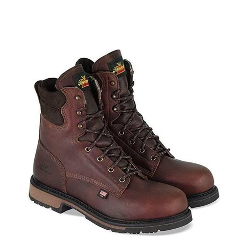 Men's American Heritage 8' Classic Plain Toe, Safety Toe Boot