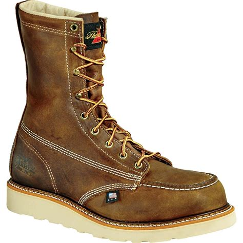 Men's American Heritage 8' Moc Toe, MAXwear Wedge Non-Safety Toe Boot