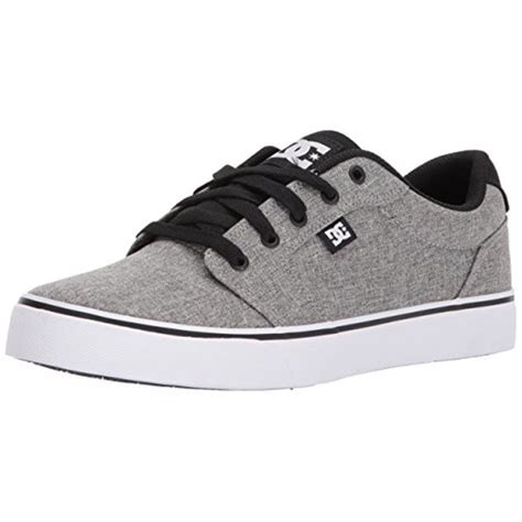 Men's Anvil Tx Skate Shoe, Black/Black/White, 14 D D US