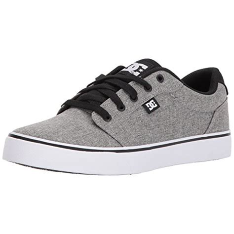 Men's Anvil Tx Skate Shoe, Black/Black/White, 7 D D US