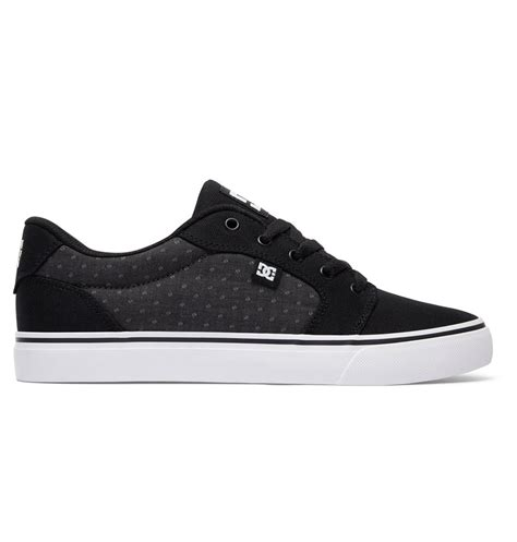 Men's Anvil Tx Skateboarding Shoe, Black/Polka Dot, 6 D US
