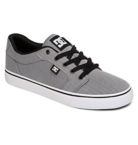 Men's Anvil Tx Skateboarding Shoe, Charcoal Grey, 7 D US