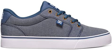 Men's Anvil Tx Skateboarding Shoe, Vintage Indigo, 6 D US