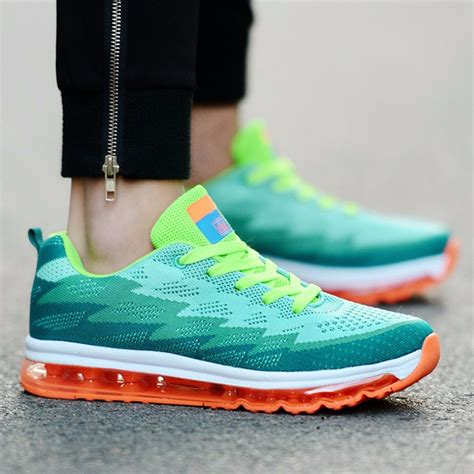 Men's Athletic Training Trail Air Cushion Running Shoes Jogging Outdoor Sport Sneakers