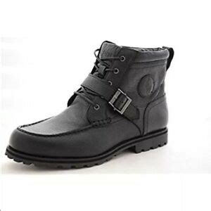 Men's BLACK Boots Wheathill Pitstop