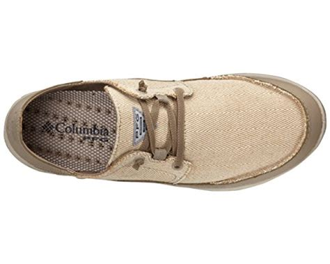Men's Bahama Vent Relaxed PFG Leather Casual Boat Shoes