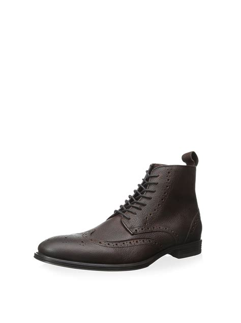 Men's Baker Wingtip Lace-Up Boot