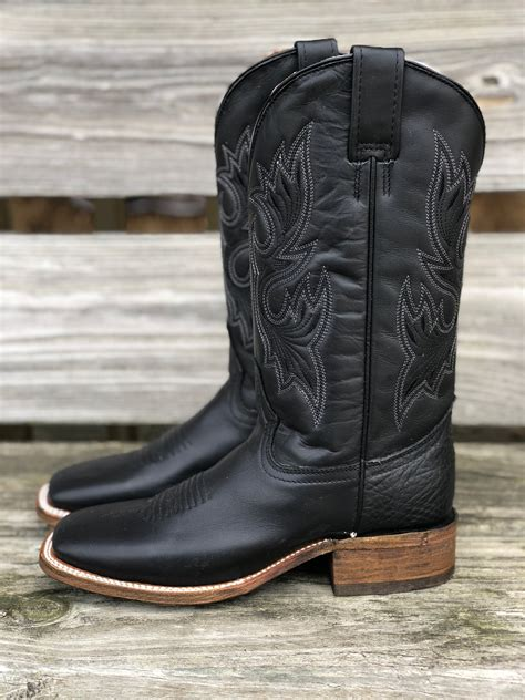 Men's Basic Square Toe Cowboy Boots