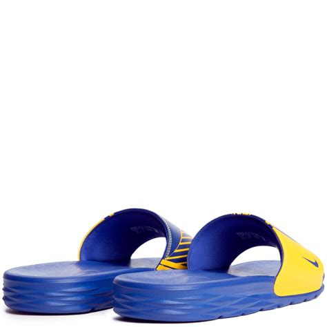 Men's Benassi Solarsoft NBA, Amarillo/Rush Blue