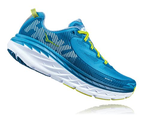 Men's Bondi 5 Niagara/Midnight Running Shoe 8 Men US