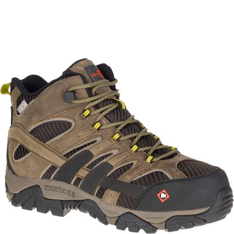 Men's Boulder Mid Waterproof Industrial Boot