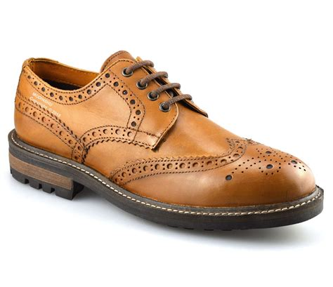 Men's Brogue Casual Shoe