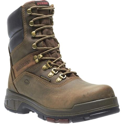 Men's Cabor Waterproof 8-Inch Work Boot