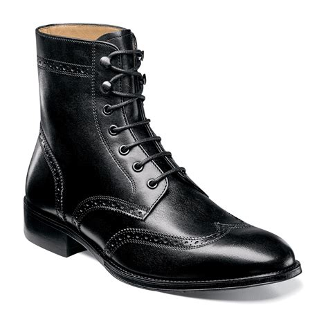 Men's Capital Wingtip Lace Up Boot
