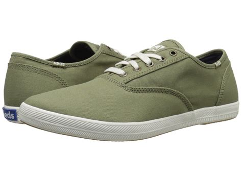 Men's Champion Solid Army Twill Sneaker