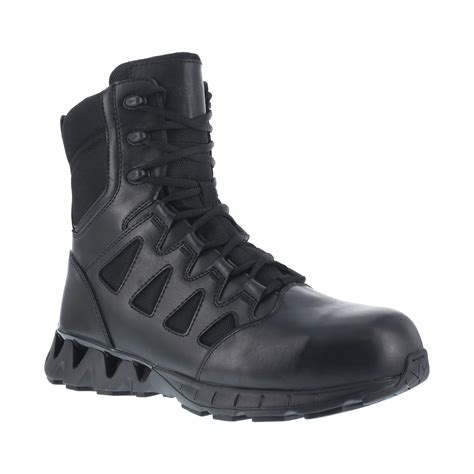 Men's Charge 8 Composite Toe Side Zip Military and Tactical Boot