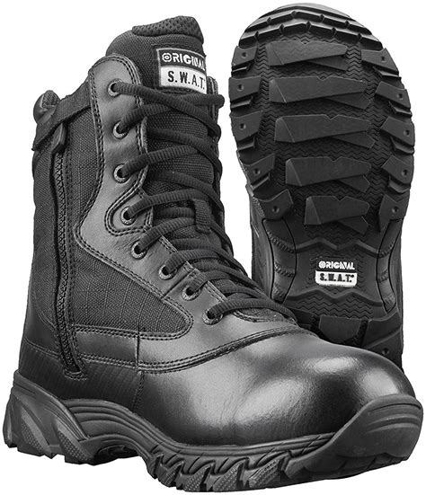 Men's Chase 9 inch Waterproof Side-Zip Military and Tactical Boot