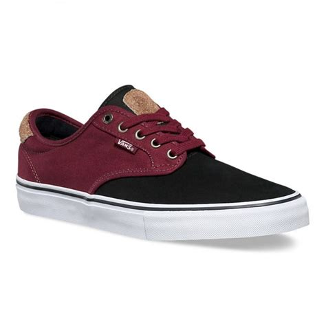 Men's Chima Ferguson Pro Skate Shoe (Two Tone) Black/Port