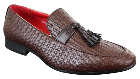 Men's Classic Casual Leather Driving Loafer Style Shoe
