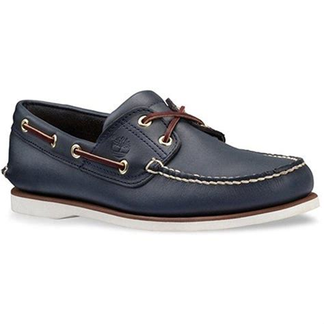 Men's Classic Two-Eyelet Rubber-Sole Boat Shoe