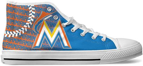 Men's Cleveland Baseball 2nd Generation Custom Fan Made High Top Canvas Shoes