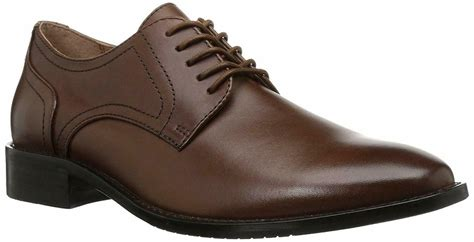 Men's Concord Leather Plain-Toe Oxford