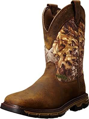 Men's Conquest Pull-On H2O Insulated Western Cowboy Boot