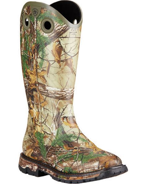 Men's Conquest Rubber Buckaroo Hunting Boot