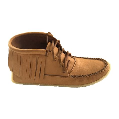 Men's Crepe Sole Genuine Moosehide Moccasins