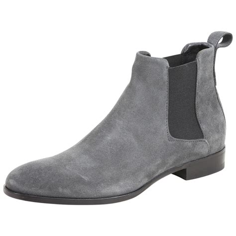 Men's Cult Suede Leather Chelsea Boots Shoes