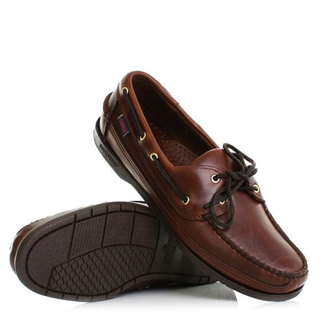 Men's Deck Leather Boat Shoe